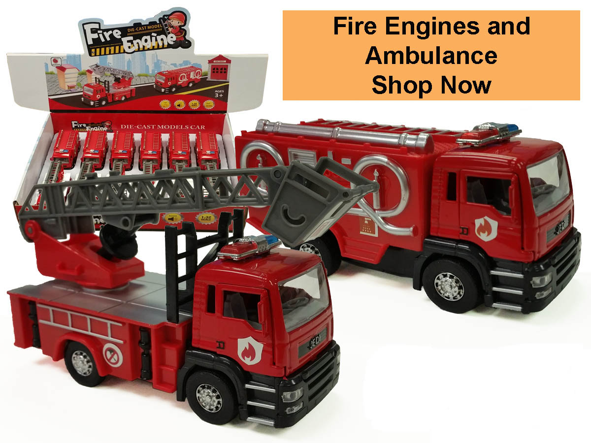 Fire Engine and Ambulance Shop Now